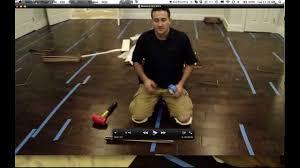 install a glue engineered hardwood floor