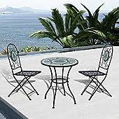 Tesco Bistro Chairs Metal Garden Furniture Garden Tesco