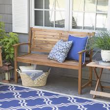 Wood Lawn Bench Plans by Vifah Ft Wood Garden Bench V The Home Depot Images On Amusing Wood