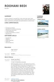 Sample Architect Resume Project Architect Resume Samples Visualcv Resume Samples Database