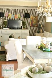 Living Room Decor For Easter Decorating For Easter