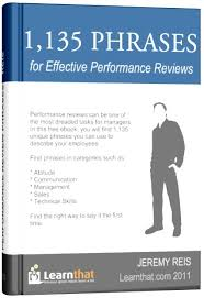 1 135 performance review template phrases ebook i