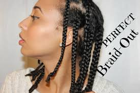 Braid Out Natural Hair | natural hair the perfect braid out super defined youtube