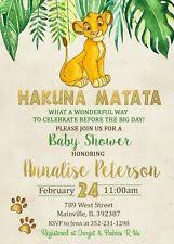 baby lion king baby shower lion king baby shower ebay