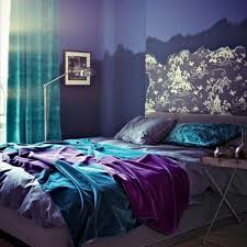 Best Chambres Inspiration Images On Pinterest Home Master - Blue and purple bedroom ideas