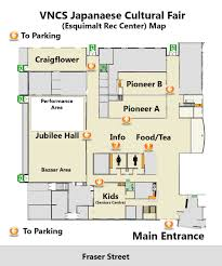 japanese cultural fair esquimalt rec centre floor plan