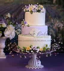 wedding cake harvest pastel petals lavender wedding cake