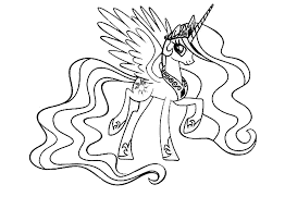 Print Download My Little Pony Coloring Pages Learning With Fun Pony Coloring Pages