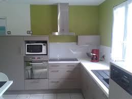 cuisine verte et grise indogate com cuisine moderne grise et blanc