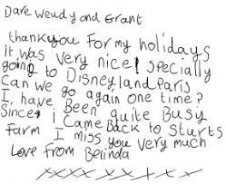 options holidays thank you letters