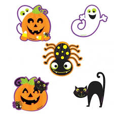 halloween window cutouts colorful owl mini cut outs grade pk 8 carson dellosa publishing