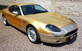 gold cars gold plated aston martin up for sale