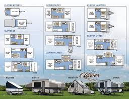 2017 coachmen clipper camping trailer brochure rv literature page 6