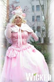 glinda good witch costume glinda the good witch from wicked by smallrinilady on deviantart