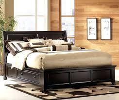 king size bed frame with drawers underneath bed frame with storage