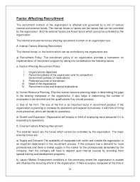 Sample Legal Assistant Resume by Summer Internship On Recruitment And Selection 2 Last