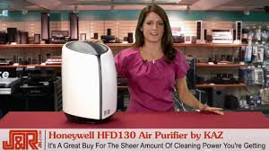 honeywell hfd130 air purifier by kaz youtube