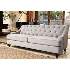 Grey Tufted Sofa by Furniture Glamorous L Shaped Sectional Semi Leather Yellow Sofa