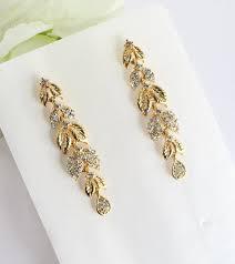 gold bridal earrings chandelier 627 best earrings images on rhinestones and