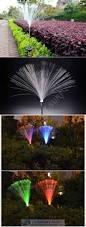 Landscape Led Light Bulbs by Pcs Solar Powered Led Lamp 7 Colors Changing Fiber Optic Garden