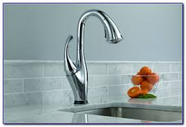 Delta Touch Faucet Troubleshooting Delta Touch Kitchen Faucet Battery Faucets Home Design Ideas