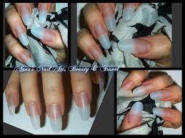 how to apply acrylic to oval u0026 stiletto nails youtube