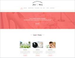 html wedding website templates u0026 themes free u0026 premium