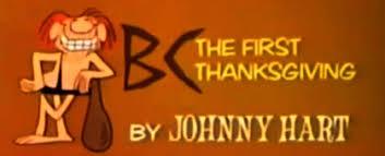 bc the frist thanksgiving