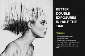 typography portrait tutorial photoshop elements create double exposures with these photoshop actions photoshop