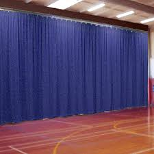 Curtain Room Separator S U0026k Theatrical Draperies Room Divider And Gymnasium Divider
