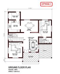 model house plans kerala building construction kerala model house 1338 s f t
