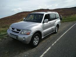 2003 mitsubishi shogun facelift only 99 000 miles from new fresh