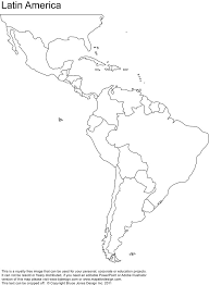 america map no borders south america map borders