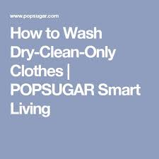 Can I Wash A Dry Clean Only Comforter Best 25 Dry Cleaning At Home Ideas On Pinterest Dry Cleaning