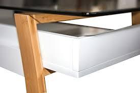 bureau bois design contemporain bonvivo table bureau secrétaire massimo moderne verre bois