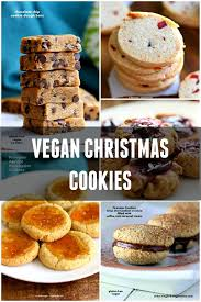 40 vegan christmas cookies recipes vegan richa