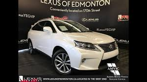 lexus rx 350 in canada used white 2015 lexus rx 350 technology package in depth review