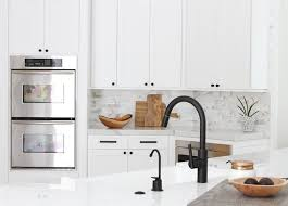 best hardware for black kitchen cabinets 13 ways to use matte black hardware in every room black
