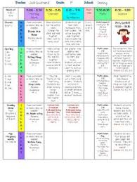 mrs terhune u0027s first grade site easy to use printable lesson