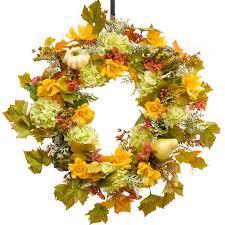 fall wreaths autumn wreaths fall silk wreaths darby creek