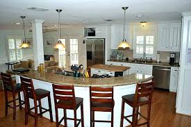 kitchen island with table seating kitchen island table with seating large kitchen island table with