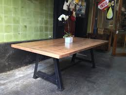 industrial dining room tables simple home industrial dining table tables shop handcrafted