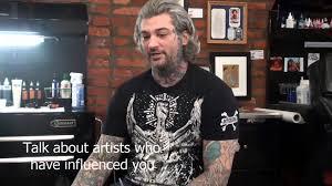 richard c cook artist tree ink master