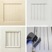 how to paint melamine kitchen cabinet doors home dzine kitchen plain white melamine kitchen goes coastal