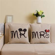 mickey mouse chair covers mr mrs mickey mouse pillowcase chair covers cushion cover cotton