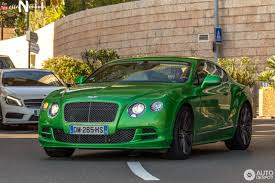 green bentley bentley continental gt speed 2015 10 may 2017 autogespot
