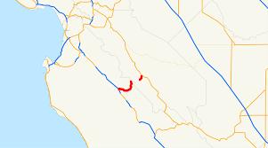 Cambria Ca Map California State Route 146 Wikipedia
