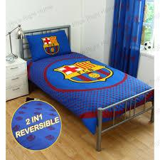 Barcelona Bedroom Furniture Barcelona Bedding Bedroom Accessories Boys Football Blanket