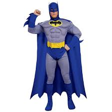 batman brave u0026 bold deluxe muscle chest costume