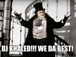 Da Best Memes - dj khaled we da best penguin khaled quickmeme